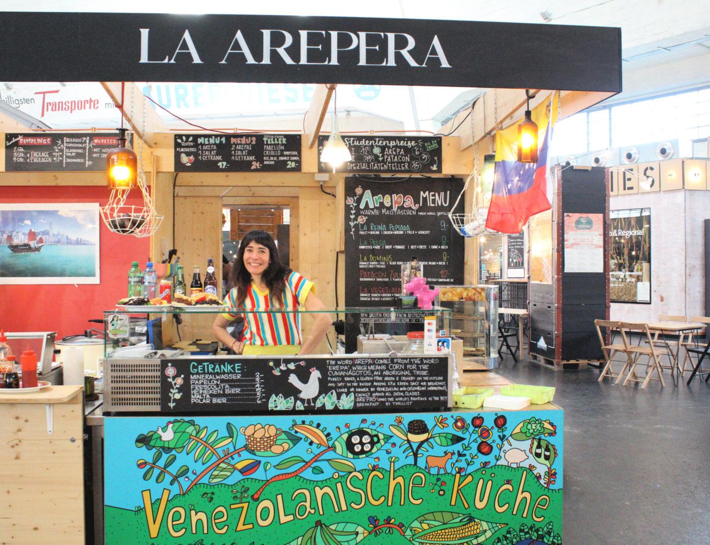 La arepera – Markthalle Basel