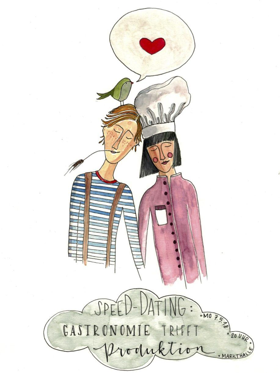Kulinarische Speed-Dating